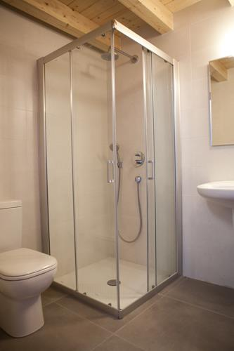 baño agroturismo Itxaspe en Gipuzkoa