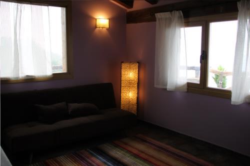 living room farm house harrigain in Gipuzkoa