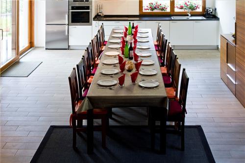 cocina,comedor casa rural teileri en gipuzkoa