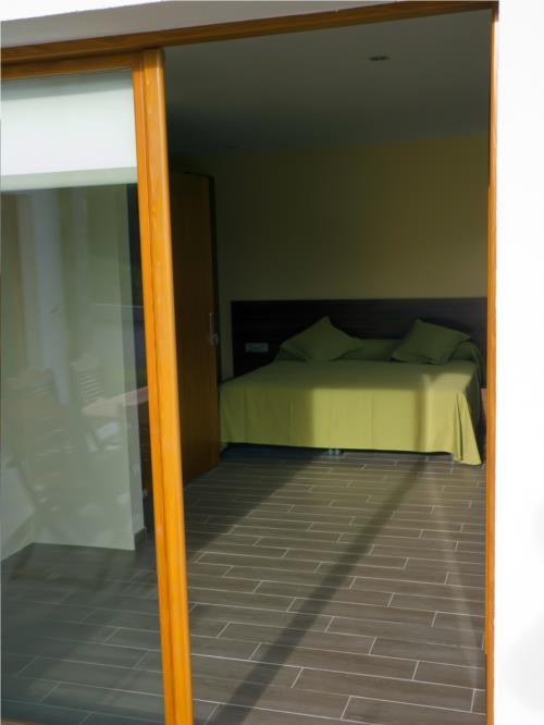 habitación doble casa rural teileri en gipuzkoa