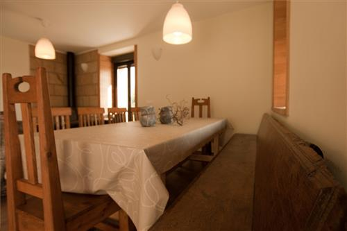 dining room farm house arkaia in Alava