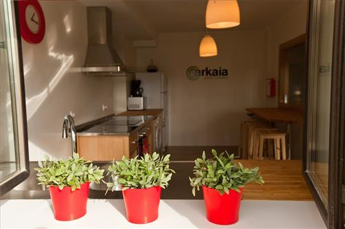 kitchen farm house arkaia in Alava