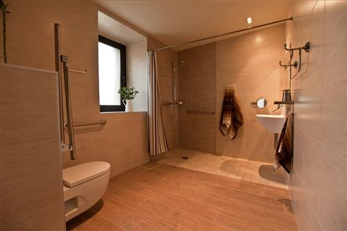 bathroom farm house arkaia in Alava