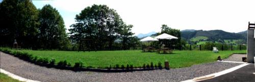 paisaje casa rural troya en gipuzkoa