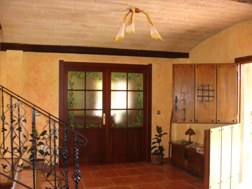 entrance farm house lezamako etxe in Bizkaia