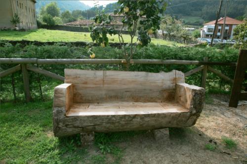 detalle 1 agroturismo lezamako etxe en Vizcaya