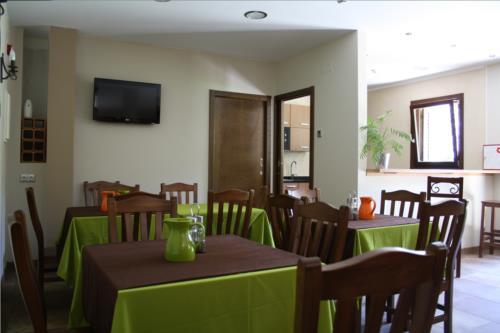 dining room country house otxoenea in Gipuzkoa