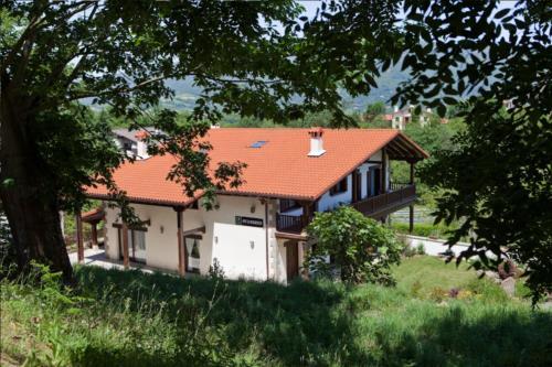 facade country house otxoenea in Gipuzkoa