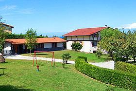 fachada casa rural Epotx-etxea en Gipuzkoa