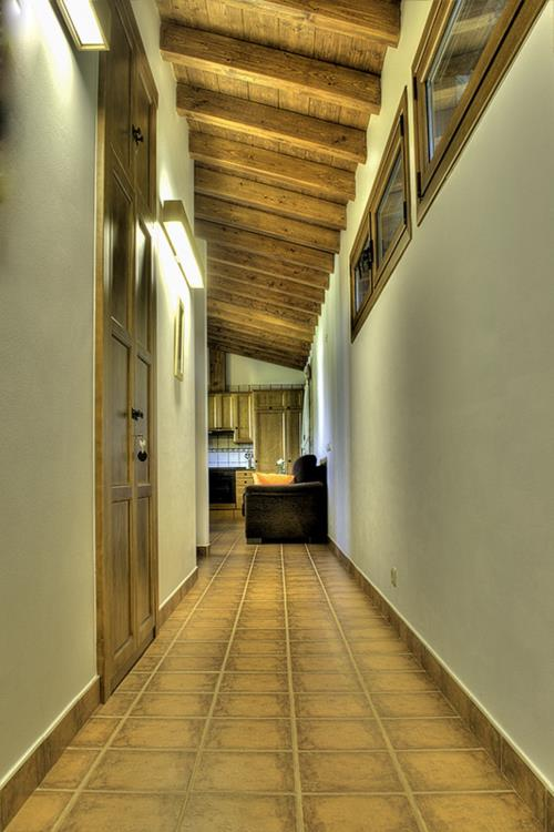 inside country house Epotx-etxea in Gipuzkoa