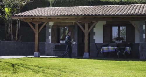 porch country house Epotx-etxea in Gipuzkoa