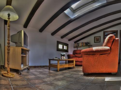 living room country house Epotx-etxea in Gipuzkoa