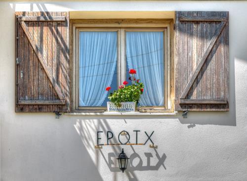 window country house Epotx-etxea in Gipuzkoa