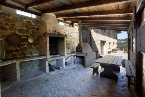Porche casa rural Gorosarri en Gipuzkoa