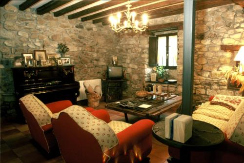 living room country house garro in Bizkaia