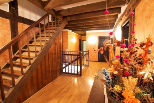 inside farm house guzurtegi in Alava