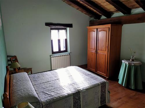 habitacion doble agroturismo Saskarate de Guipuzcoa
