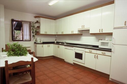 Cocina agroturismo Astei en Bizkaia