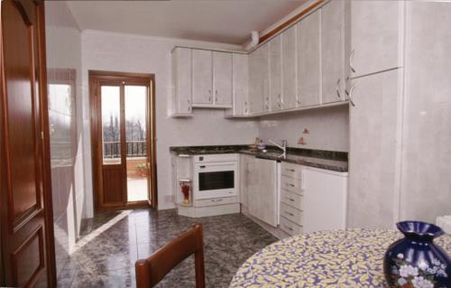 kitchen farm house aldarreta in Gipuzkoa
