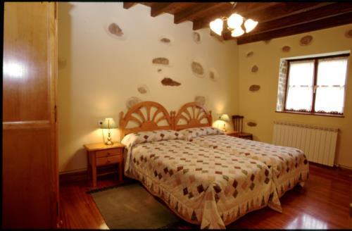 double room 1 farm house caserío muru in Alava