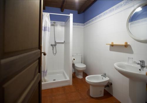 apartamento baño agroturismo goikola en gipuzkoa