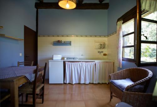 kitchen farm house goikola in Gipuzkoa