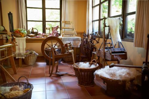 taller textil agroturismo goikola en gipuzkoa