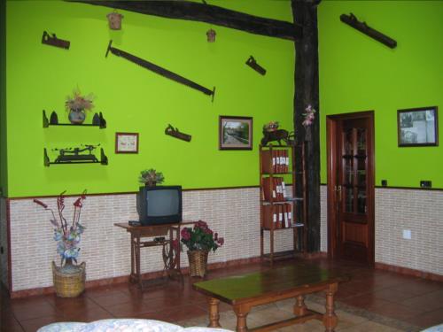 living room farm house landarbide zahar in Gipuzkoa