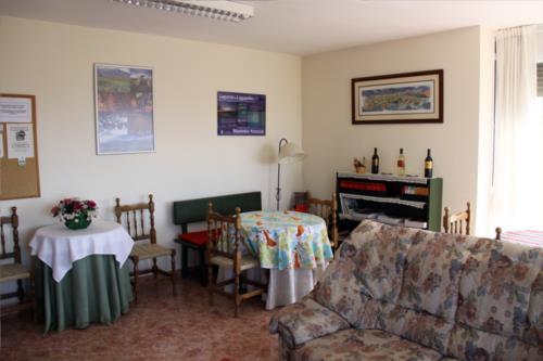 liivng room farm house larretxori in Alava