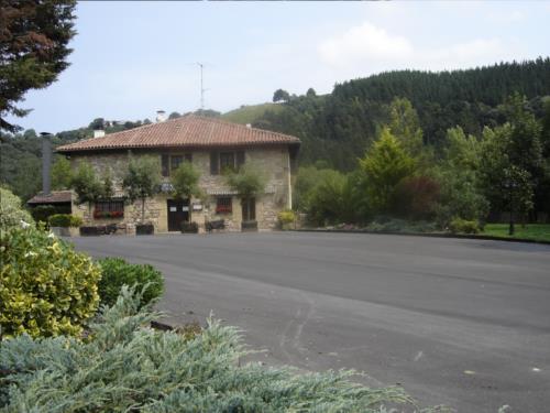 exterior casa rural Jesuskoa en Gipuzkoa