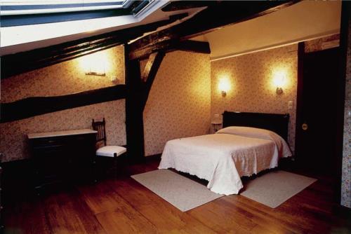 habitación doble 1 casa rural Jesuskoa en Gipuzkoa