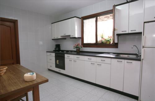 kitchen farm house arraspiñe in Gipuzkoa