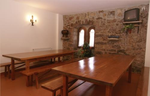 dining room farm house arraspiñe in Gipuzkoa