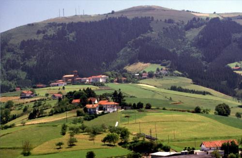 paisaje 2 agroturismo Tolare Berri en Gipuzkoa
