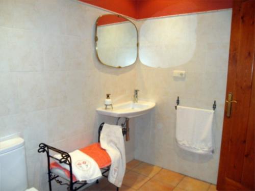 bathroom farm house arrasketa in Gipuzkoa