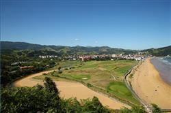 El paisaje del biotopo protegido de Iñurritza en Zarautz