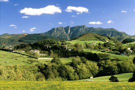 Aiako Harria constituye el único macizo granítico del País Vasco