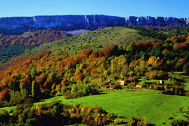 Valderejo cuenta con 3418,5 hectáreas de bellos paisajes