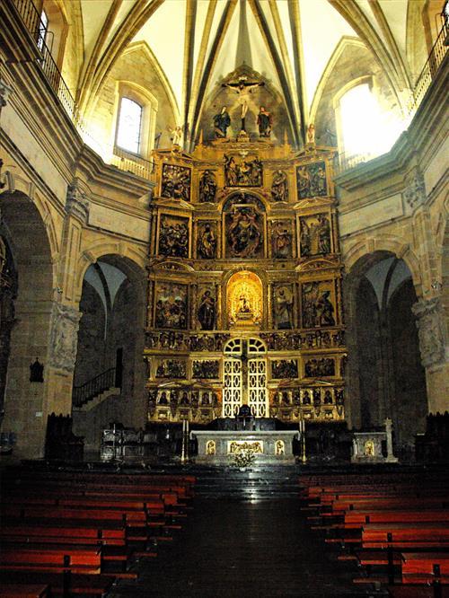 santa maria de uribarri basilika durango bizkaia