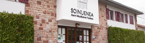 Soinuenea, Centro de la Música Popular oiartzun (guipuzcoa)