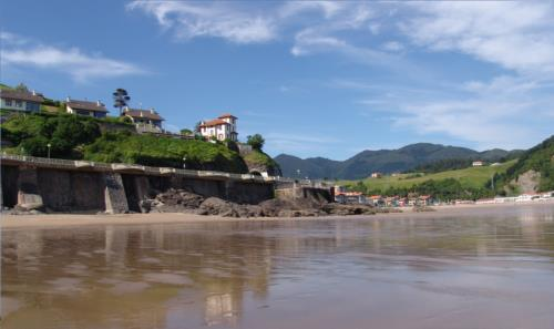 Santiago beach of Deba